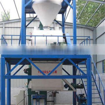 High efficiency low cost inside wall mortar plant,dry mortar mixing plant