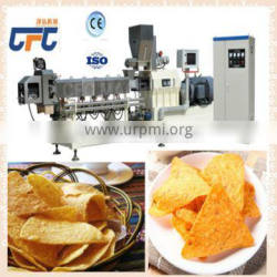 Round/squre crispy rice chips extruder line