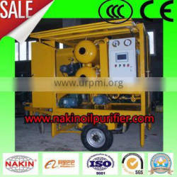 ZY-M Mobile Trailer Equipped Single Vacuum Transformer Oil Purification Unit