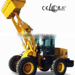 High quality 3t small chinese wheel loader ZL30, 6 cylinder diesel engine