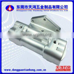 Precision aluminum turning parts with two circular groove