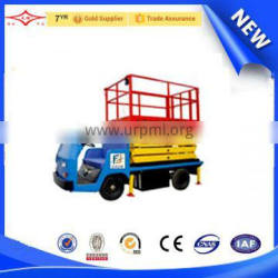 china excellent quility iso/ce vehicle-mounted elevator platform car lift hydraulic cylinder
