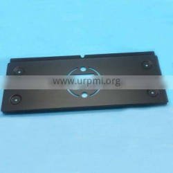 steel mounting plates with matte painting