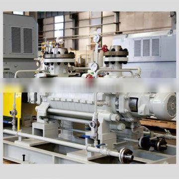 High head horizontal multistage end suction centrifugal pump