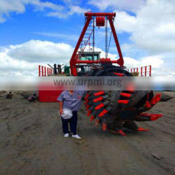 China Low Price 22 Inch Cutter Suction Dredger For Nigeria River Dredging Machine
