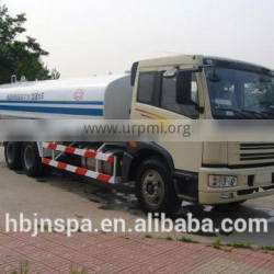China jiefang 15000L FAW water tank truck for sale