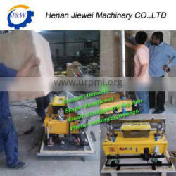 Stainless steel Automatic rendering machine|auto wall plastering machine