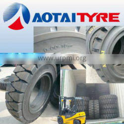 China high quality cheap 650-10 21x8-9 solideal tires for forklift