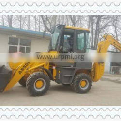 2017 AS500 4x4 5 ton wheel excavator for sale with joystick pilot and ac