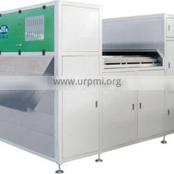 The latest plastic recycling particles color sorter machine