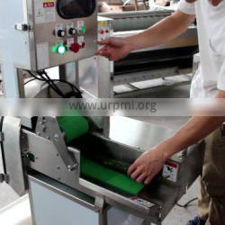 Automatic Fruit and Vegetable Cutting Machine celery vegetable cutting machine dried tofu cutting machine