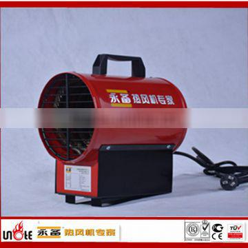 electric fan heater for drying leather