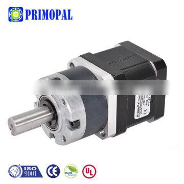 65mm with box spur 264 planetary nema 17 stepper motor with gearbox for robot 0.4a reducer laser cutting machine reducer