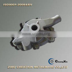 cold chamber aluminum gravity die casting water pump body