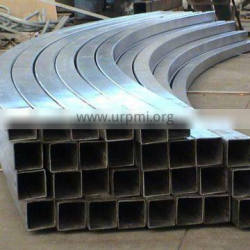 Rectangle carbon steel pipe bends