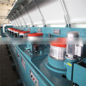 Flux cored ARC welding wire E71T-1 fine wire drawing machine with annealler