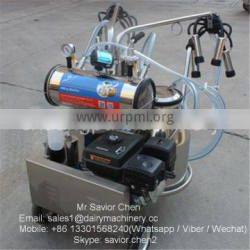 4.0KW Gasoline Power Cow Milking Machines For Cows For Sale