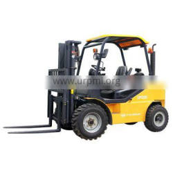 Brand new China forklift YTO 2.5 ton diesel telescopic rough terrain forklift CPCD25 price