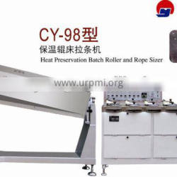 CY-98 Heat Preservation Batch Roller and Rope Sizer