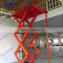 3ton Hot sale trailers with hydraulic lifts work platform