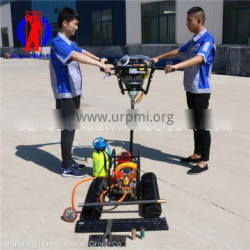 BXZ-2 gasoline engine 7.75HP mountain bags drill rig manufacturer backpack core sample drilling rig price