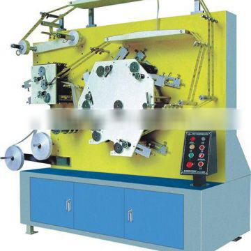 Soft plate high speed label printing machine for tapes