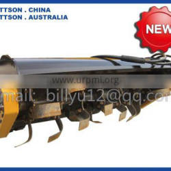 MATTSON rotary tiller for mini skid steers Diesel engine mini skid steer loader