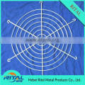 Spiral metal fan guard grill cover used in computer, industrial