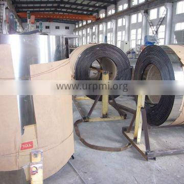 Steel belt for rotoform machine supporting engineer overseas service