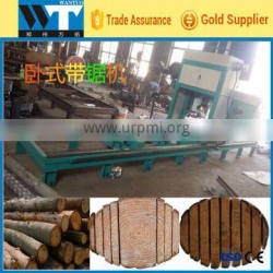 Factory supply Portable Horizontal band saw for logs