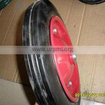 """The high quality solid rubber wheel/wheelbarrow 13""""*3.5"""" /SR2500 for hand trolley&truck"""