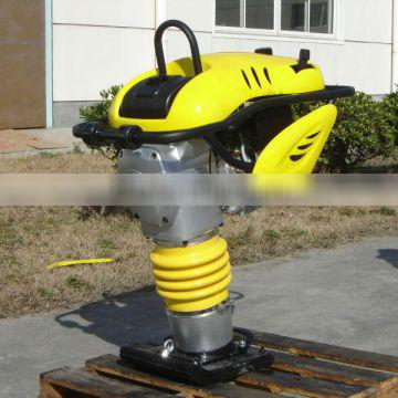 Best price and patent tamping rammer machine with separable double filter design extends lifetime and makes the maintenance easi