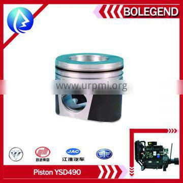 Yangdong 490 diesel engine spare parts PISTON,PISTON RING for forlift heavy equipment parts