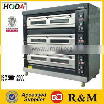 220V 9pans electric conveyor pizza oven on promotion