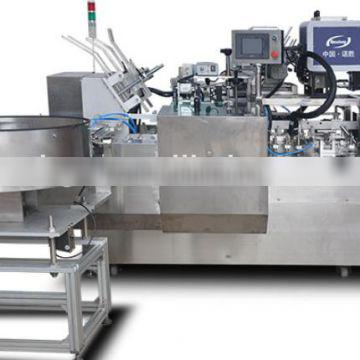 Fully Automatic bottle/ointments carton boxing machine