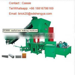German technology SY3000 full automatically hydraulic kerbstone forming machines small scale industries in india images