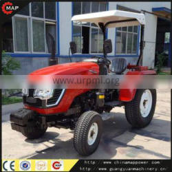Front end loader mini articulated tractors with turf tyre
