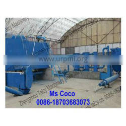 continuous nonsmoke Castor seed waste of flax PalmShell wood shaving carbonization machine to Charcoal Powder0086-18703683073