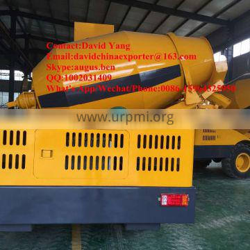 best selling buy self - loading concrete mixer price