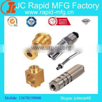 Precision Brass Valve Parts/ Metal Precision Brass Valve Parts/ High Precision Valve CNC Machining Parts