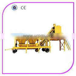 YHZS50 low cost mobile concrete batching plant for sale