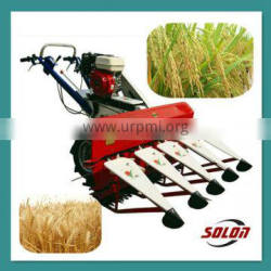 High efficiency paddy and wheat harvesting and bundling machine with top quality