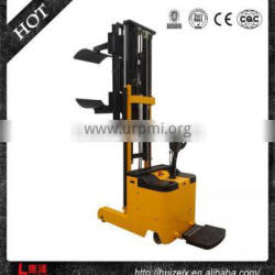 200kg 1600mm Battery Operated Paper Roll Truck Stacker