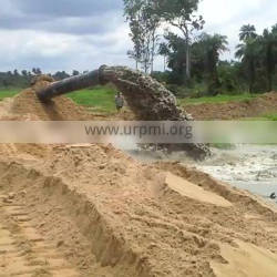 Canal dredging equipment with cutter dredge with cutter head for deepening for sale in the Philippines