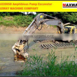 MAXWAY MACHINE COMPANY New Product ~ Slime Pump for Excavator