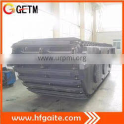 For 20t excavator Best amphibious pontoon China supplier of Amphibious excavator undercarriage