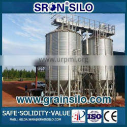 Gravity Feed Bins Silos Cost Down with China SRON Brand Factory Bottom Price
