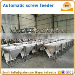 Feeder machine,hopper screw feeder,Inclining Conveyor Structure