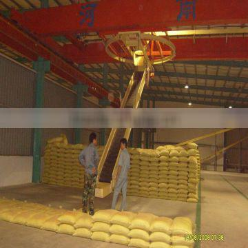 Semi crane stacker conveyor/speed stackers for Good after-sale service provided