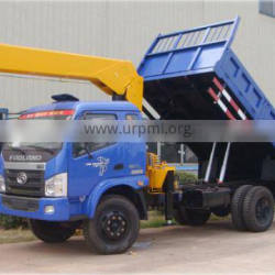 Mobile crane 5 ton hydra crane for sale in india with tipper truck